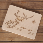 Lake Lanier, Georgia Cutting Board - Tressa Gifts