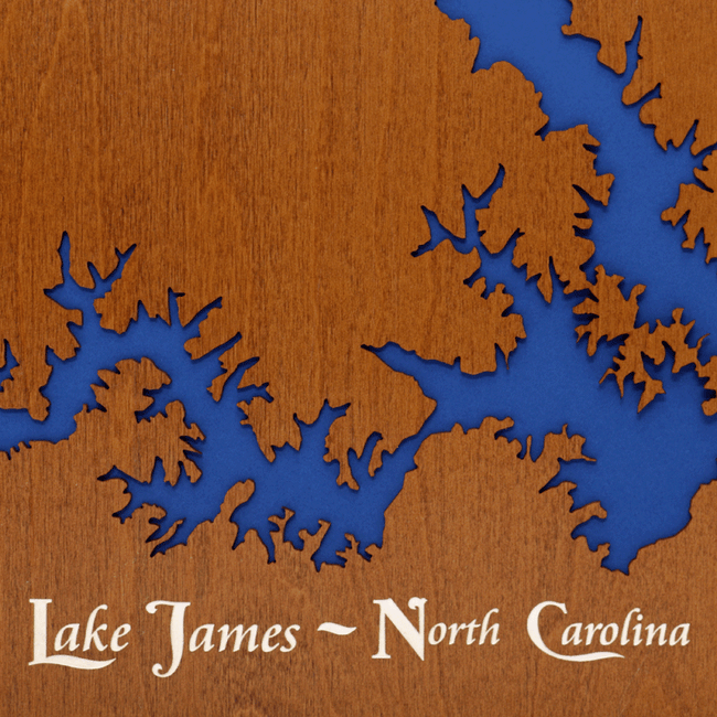 Lake James, North Carolina - Tressa Gifts