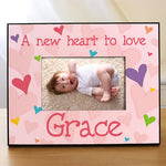 Pink heart picture frame - Tressa Gifts