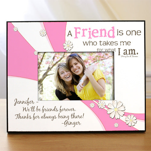 Friendship Personalized Printed Frame