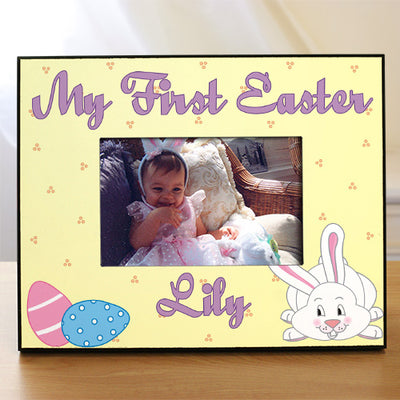 My First Easter Personalized Picture Frame