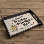 Personalized Welcome Serving Tray - Tressa Gifts