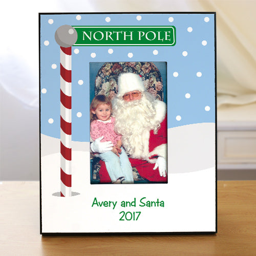 North Pole Picture Frame