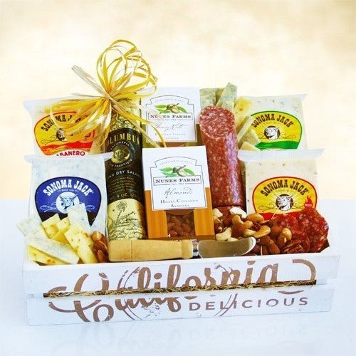 California Delicious Fresh Creamery Gourmet Crate - Tressa Gifts