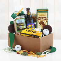 Dad's Tee-Riffic Golf and Goodies Gift Box - Tressa Gifts