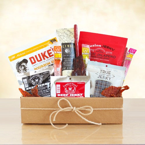 Meat Lover's Jerky Gift Box - Tressa Gifts