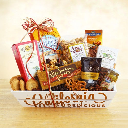 Sweet and Salty California Sampler - Tressa Gifts