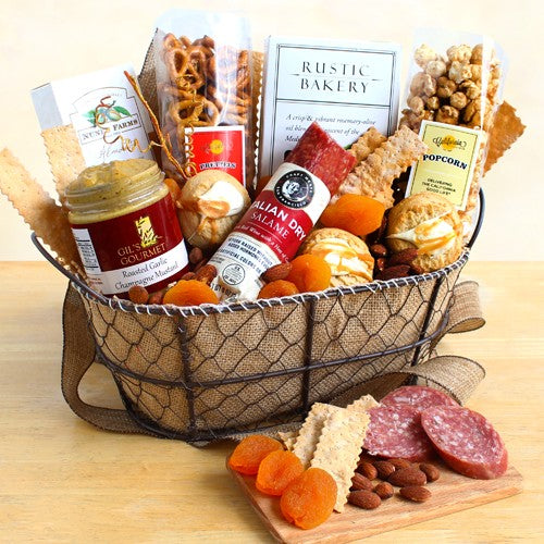 The Gourmand's Gourmet Gift Basket - Tressa Gifts