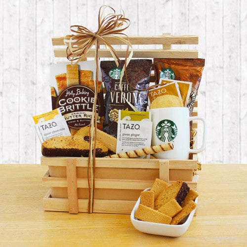 Country Coffee Crate Basket - Tressa Gifts