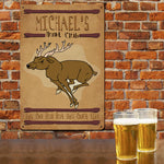 Personalized Hunt Club Metal Wall Sign - Tressa Gifts