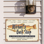 Personalized Bait Shop Sign - Tressa Gifts