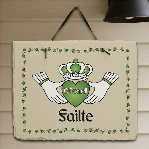 Personalized Failte Irish Slate Plaque - Tressa Gifts