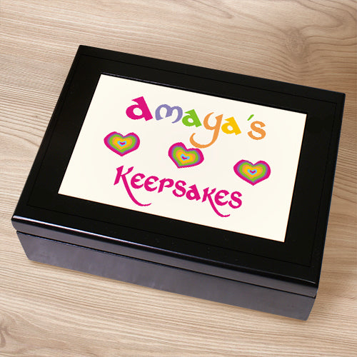 My Treasures Keepsake Box - Tressa Gifts