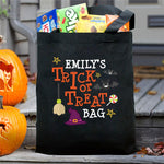 Personalized Trick Or Treat Hat Tote Bag - Tressa Gifts