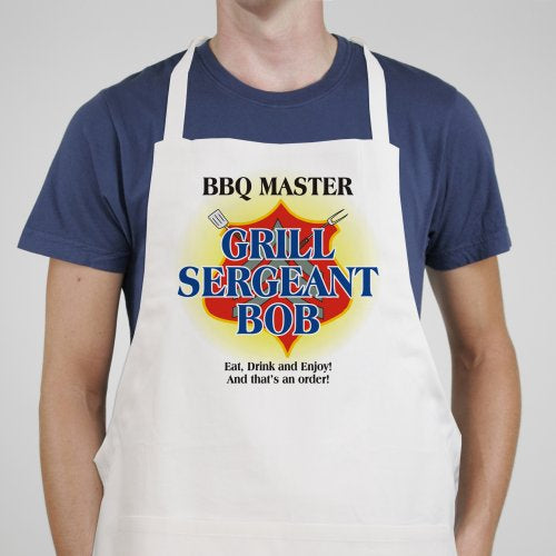 Grill Sergeant BBQ Personalized Apron