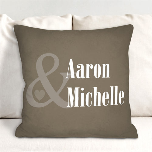 Personalized Couples Pillow - Tressa Gifts