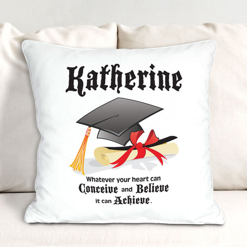 Personalized Graduation Throw Pillow - Tressa Gifts