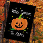 Personalized Halloween House Flag - Tressa Gifts