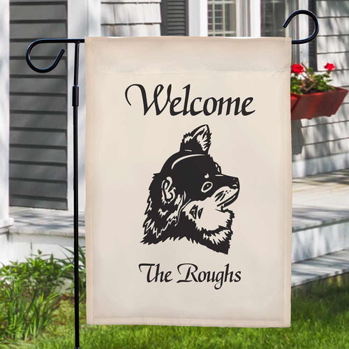 Welcome Dog Breed Personalized Garden Flag - Tressa Gifts