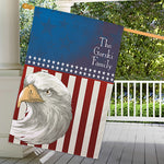 Personalized American Pride House Flag - Tressa Gifts