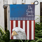 Personalized American Pride Garden Flag - Tressa Gifts