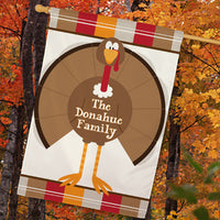 Personalized Turkey Welcome House Flag - Tressa Gifts