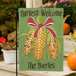 Personalized Fall Harvest Garden Flag - Tressa Gifts