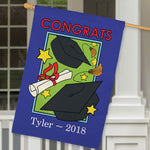 Graduation Personalized House Flag - Tressa Gifts