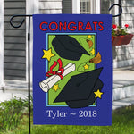 Personalized Grad Garden Flag - Tressa Gifts