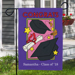 Personalized Graduation Garden Flag - Tressa Gifts