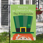 Personalized St. Patrick's Day Garden Flag - Tressa Gifts