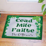 Irish House Blessing Personalized Doormat - Tressa Gifts