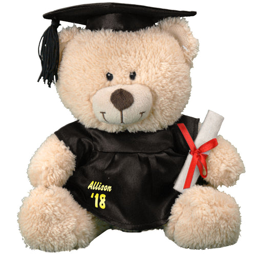 Personalized Graduation Cap and Gown Teddy Bear - Tressa Gifts