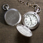Personalized With Every Second We Love You More Pocket Watch - Tressa Gifts