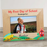 Personalized School Bus Frame - Tressa Gifts