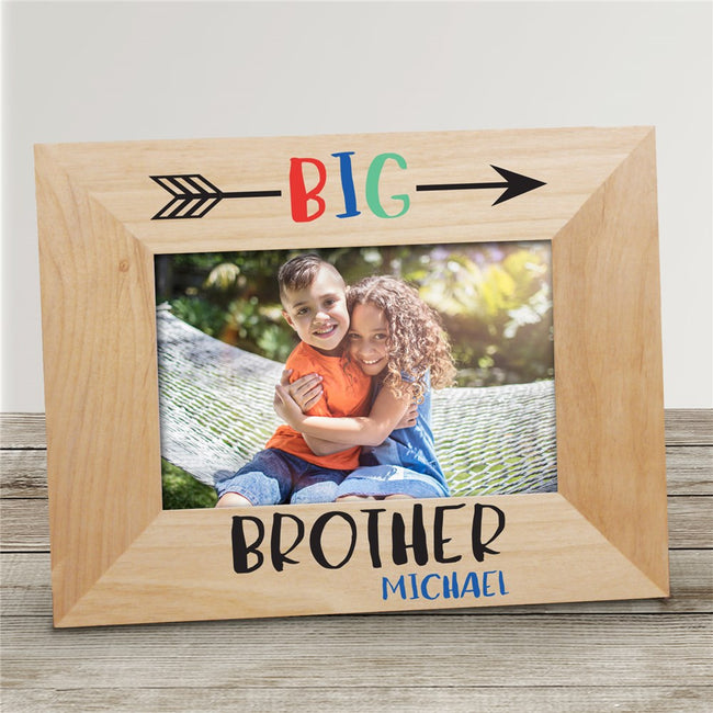 Personalized Big Brother Big Sister Picture Frame