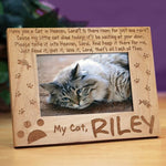 Have You a Cat in Heaven Wood Picture Frame - Tressa Gifts