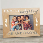 Personalized Family is Everything Wood Picture Frame - Tressa Gifts