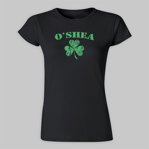 Green Shamrock Women's T-shirt