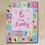 Alphabet girl canvas - Tressa Gifts