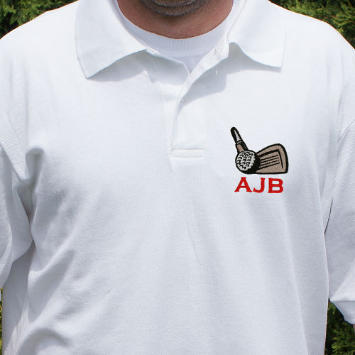 Personalized Golf Polo Shirt