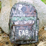 Embroidered Camo Computer Backpack - Tressa Gifts