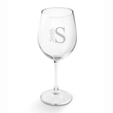 Personalized White Wine Glass - Tressa Gifts