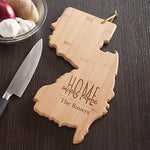 Personalized Home Sweet Home New Jersey State Cutting Board - Tressa Gifts