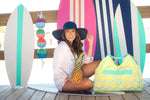 Monogramed Beach Bag - Tressa Gifts
