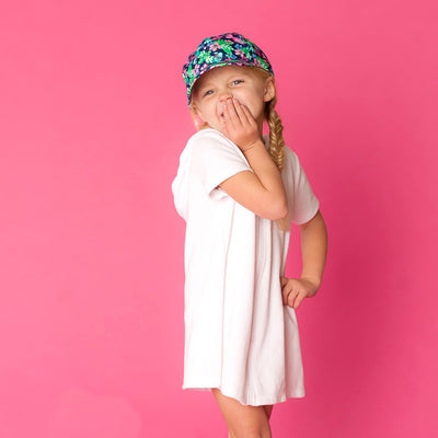 Monogramed Kids' Cap