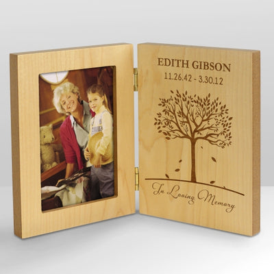 Memorial Wooden Picture Frame