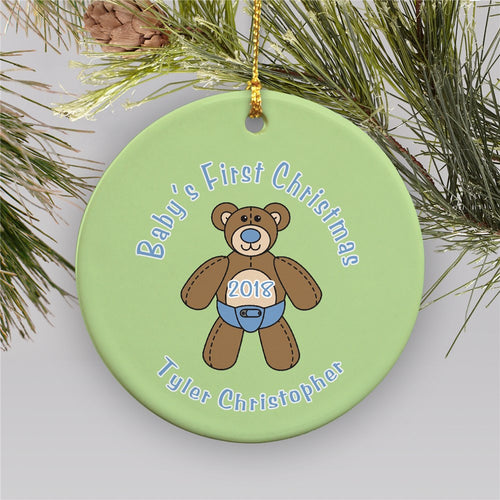 Baby's First Christmas Ornament - Tressa Gifts