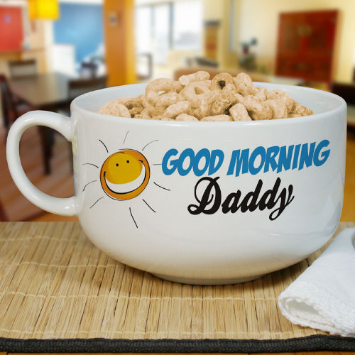 Personalized Ceramic Cereal Bowl - Tressa Gifts