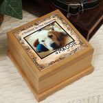 Personalized Memorial Wooden Urn - Tressa Gifts